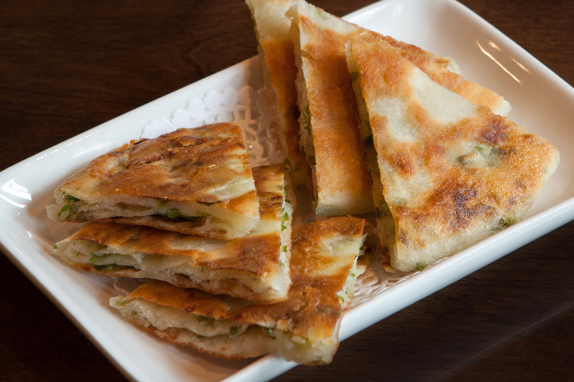 Green Onion Pancake at Lee Chen Asian Bistro