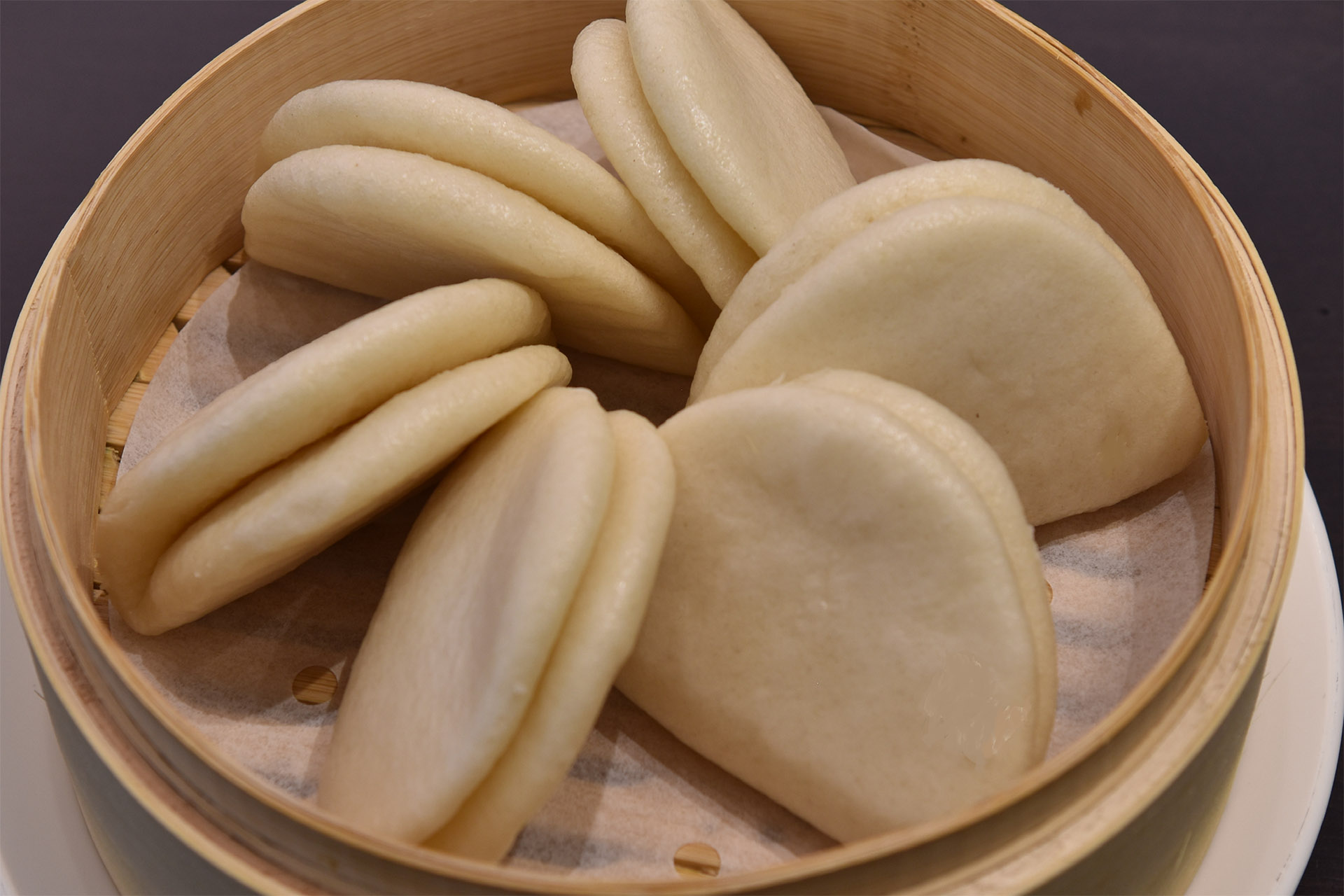 Steamed Bao Buns [6] at Lee Chen Asian Bistro
