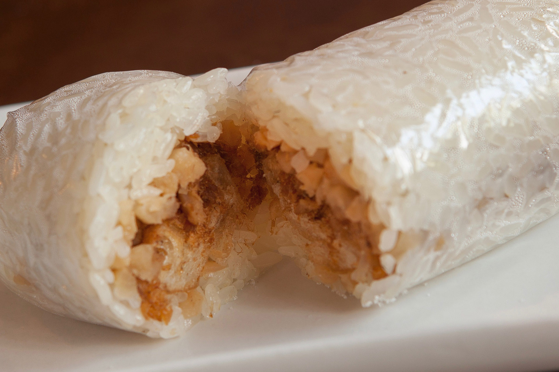 Salty Glutinous Rice Roll (pork) at Lee Chen Asian Bistro