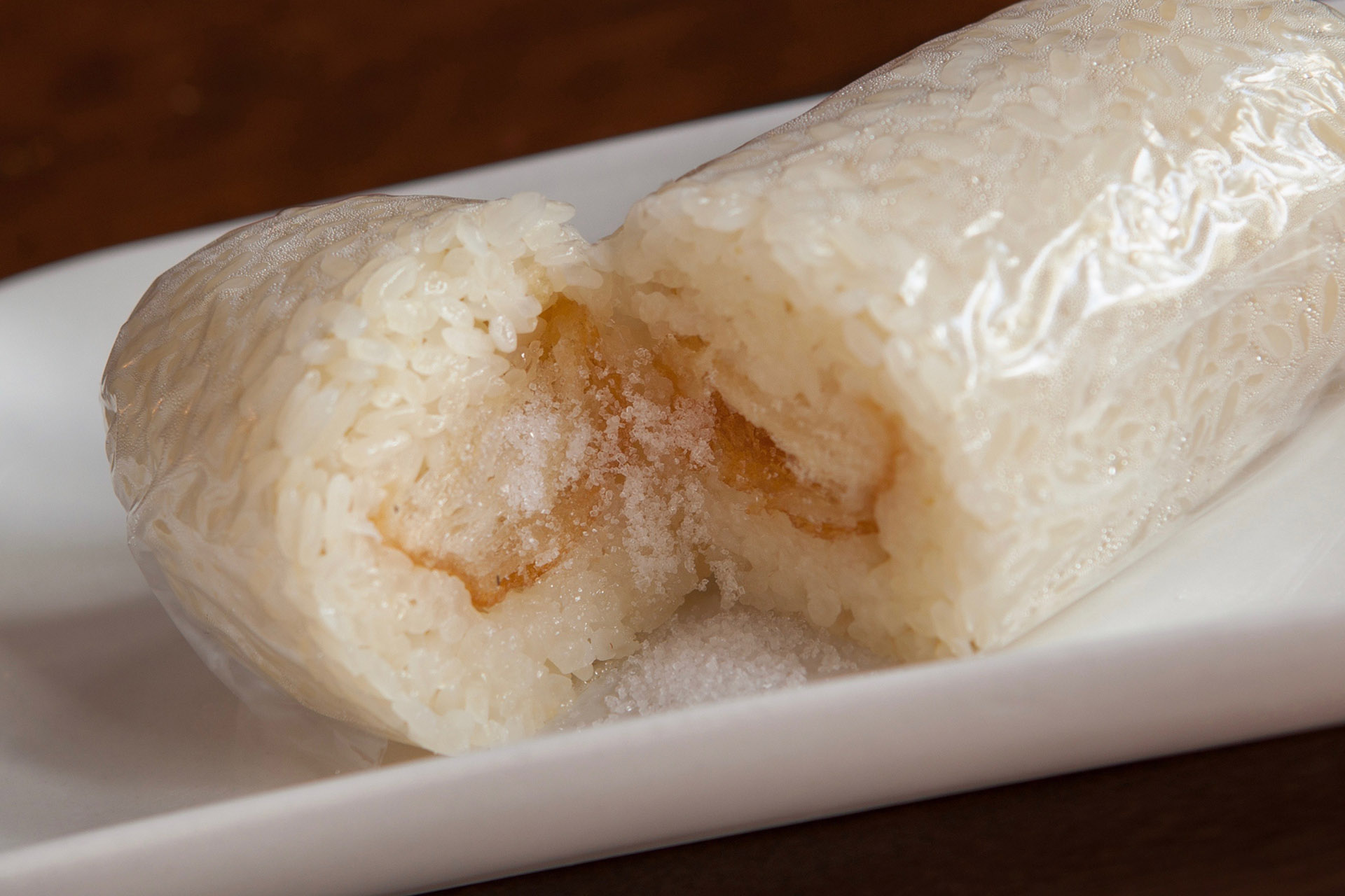 Sweet Glutinous Rice Roll at Lee Chen Asian Bistro