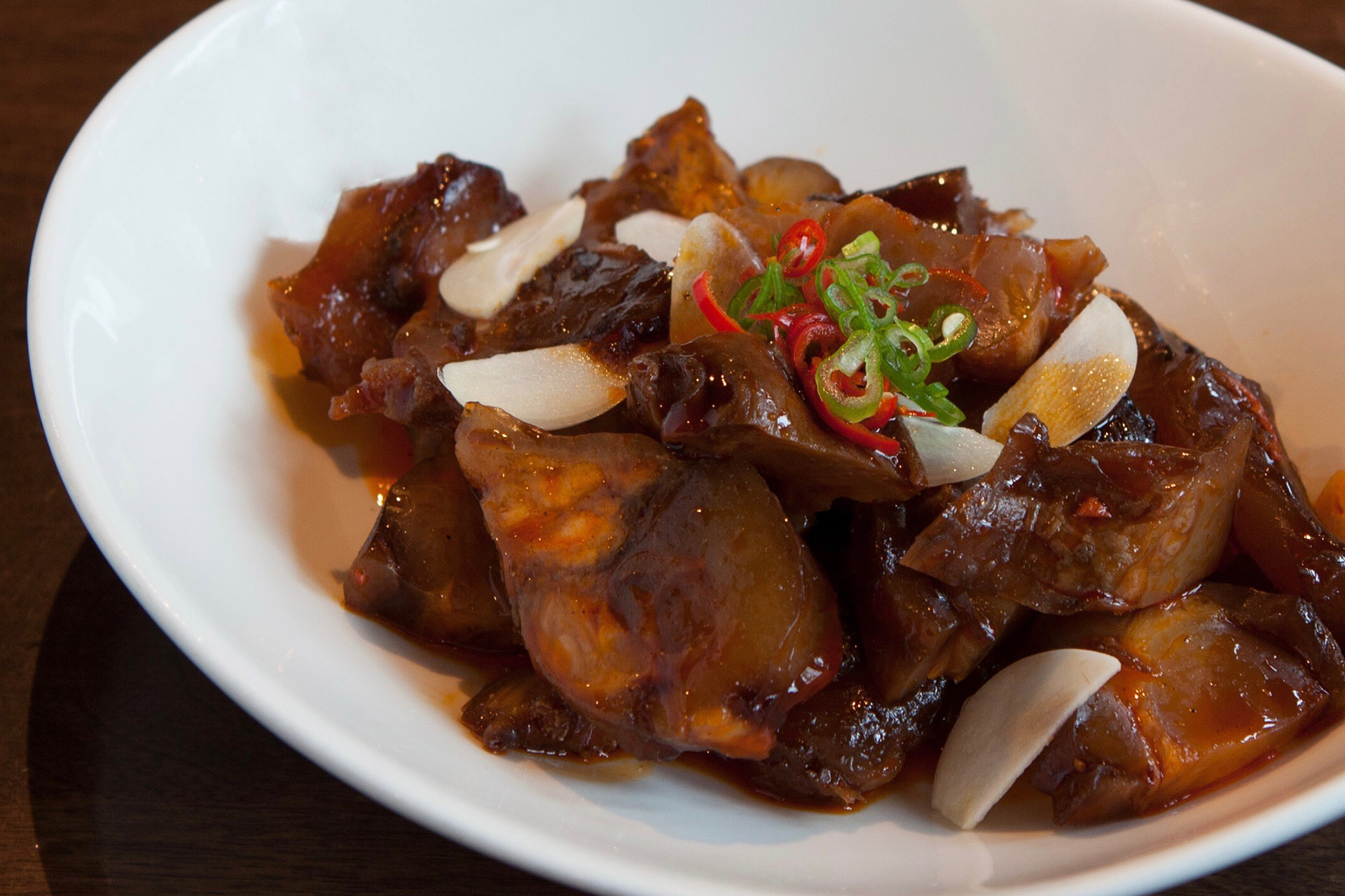 Spicy Beef Tendon at Lee Chen Asian Bistro