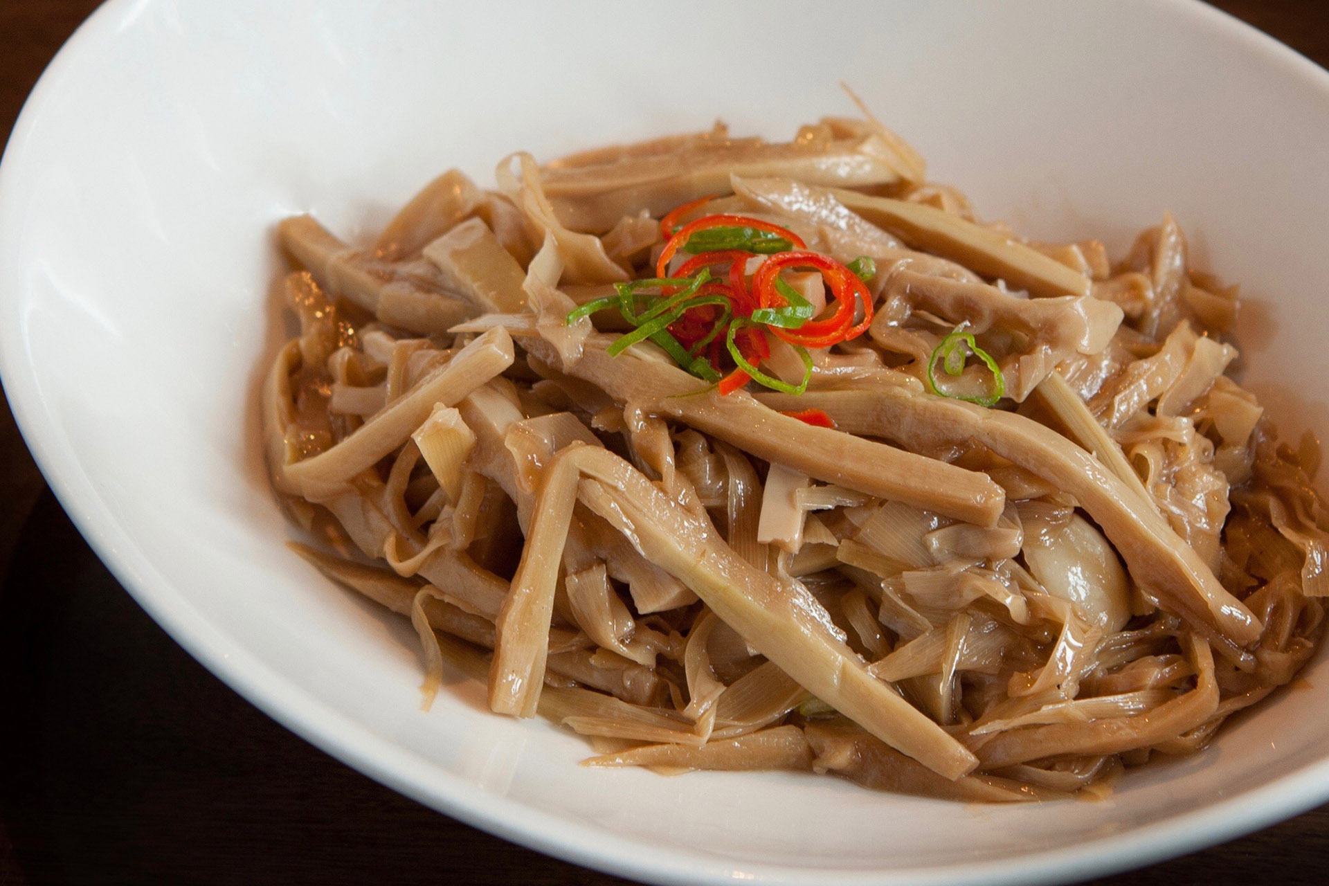Braised Bamboo Shoots at Lee Chen Asian Bistro