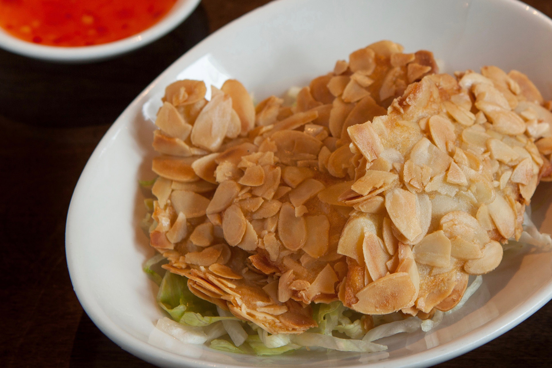 Almond Fish at Lee Chen Asian Bistro