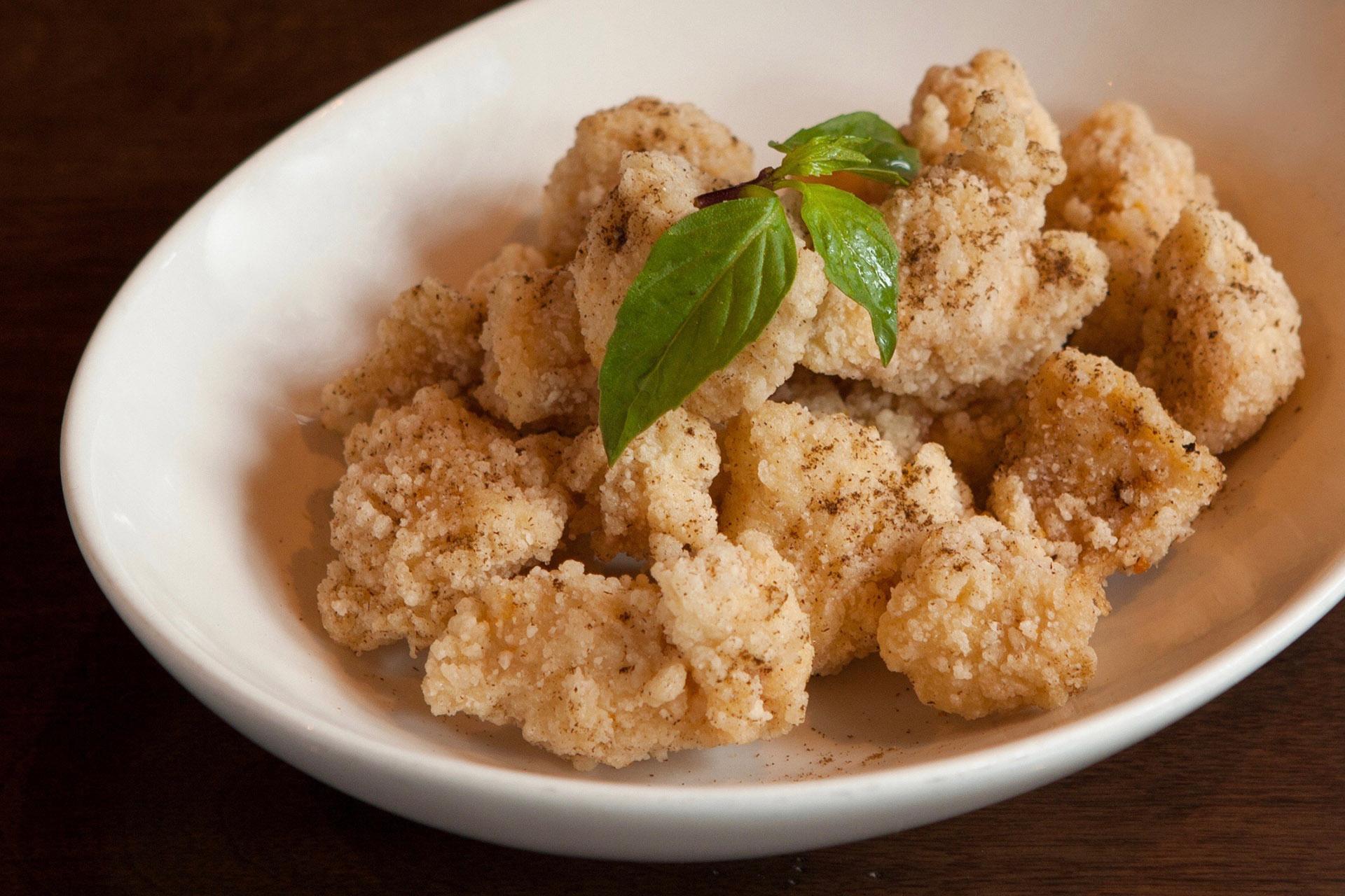 Salt & Pepper Chicken at Lee Chen Asian Bistro