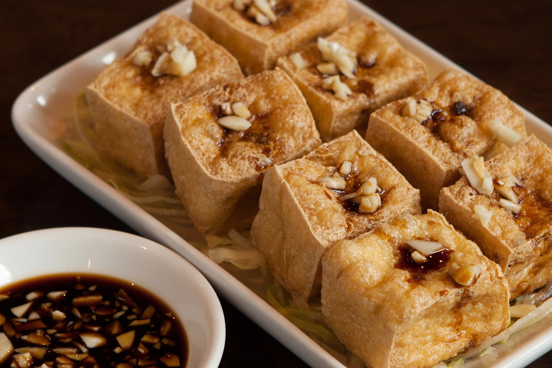 Crispy Tofu at Lee Chen Asian Bistro
