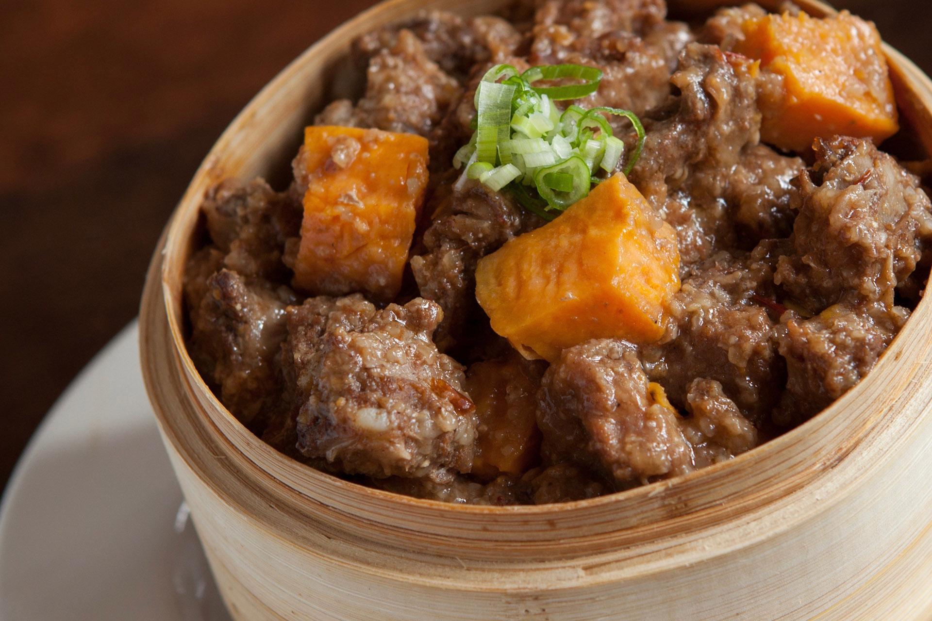 Sparerib Bites in Rice Powder at Lee Chen Asian Bistro