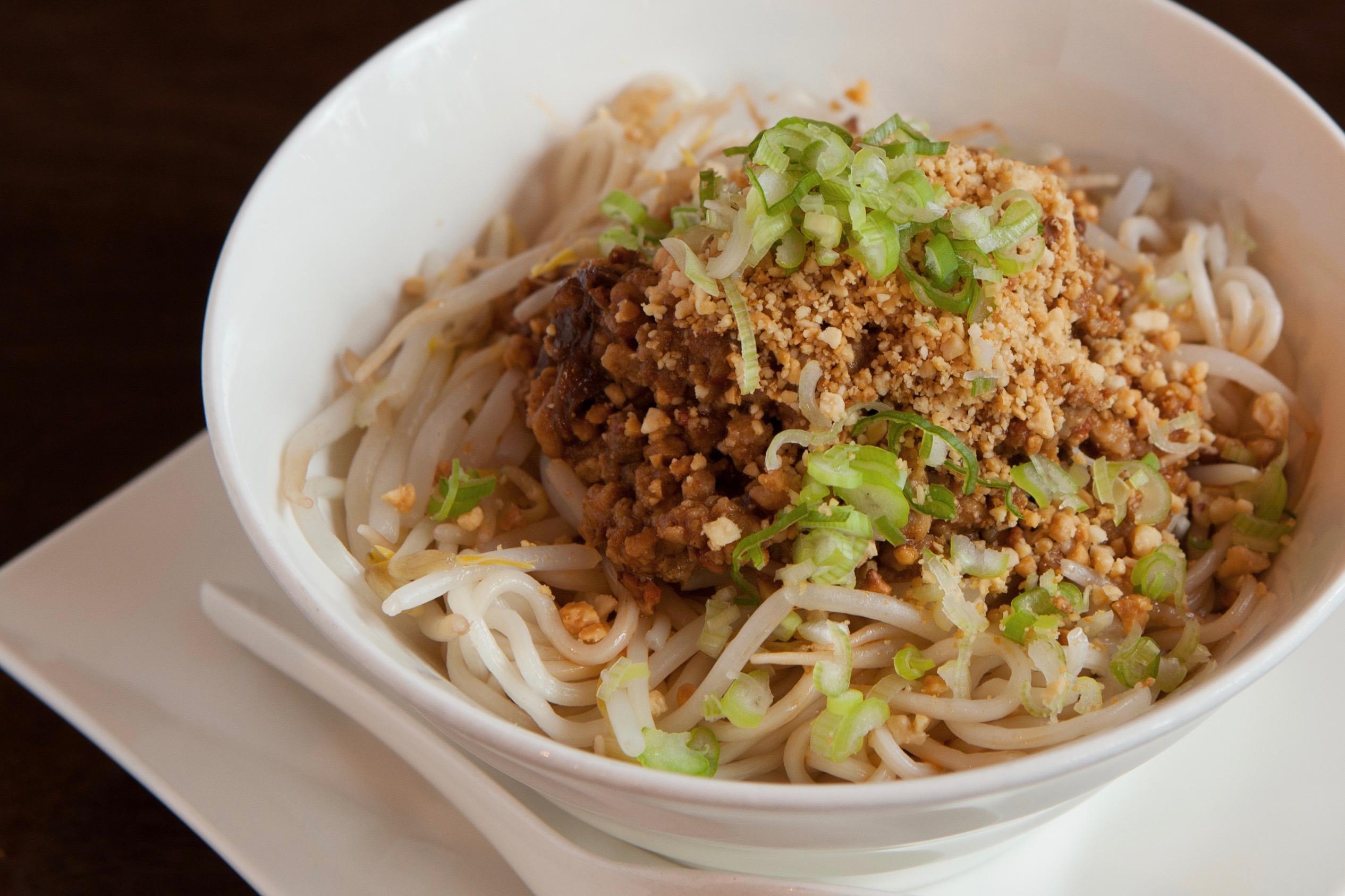 Dan Dan Noodle (pork) at Lee Chen Asian Bistro