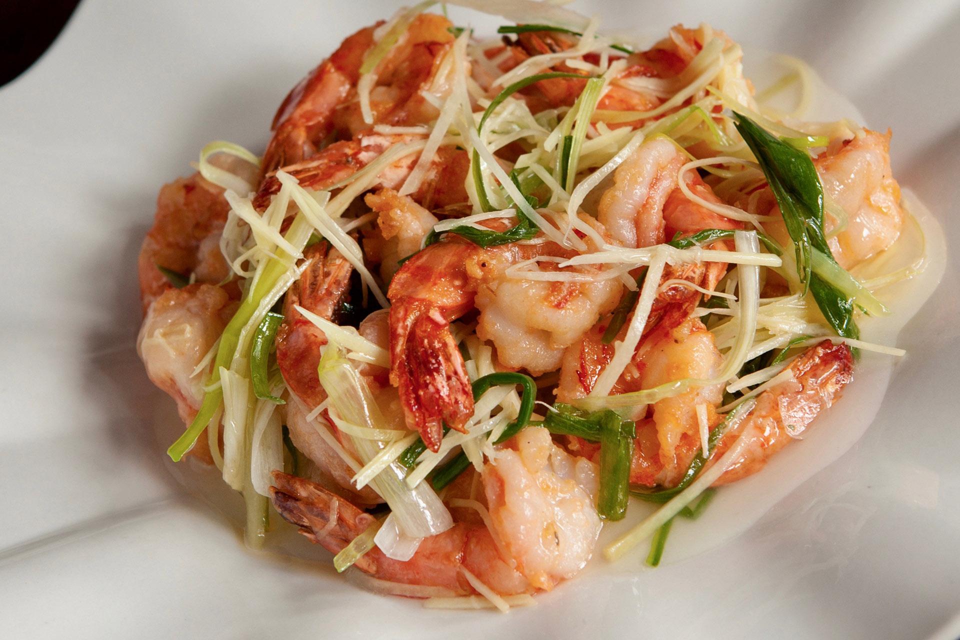 Ginger Shrimps at Lee Chen Asian Bistro