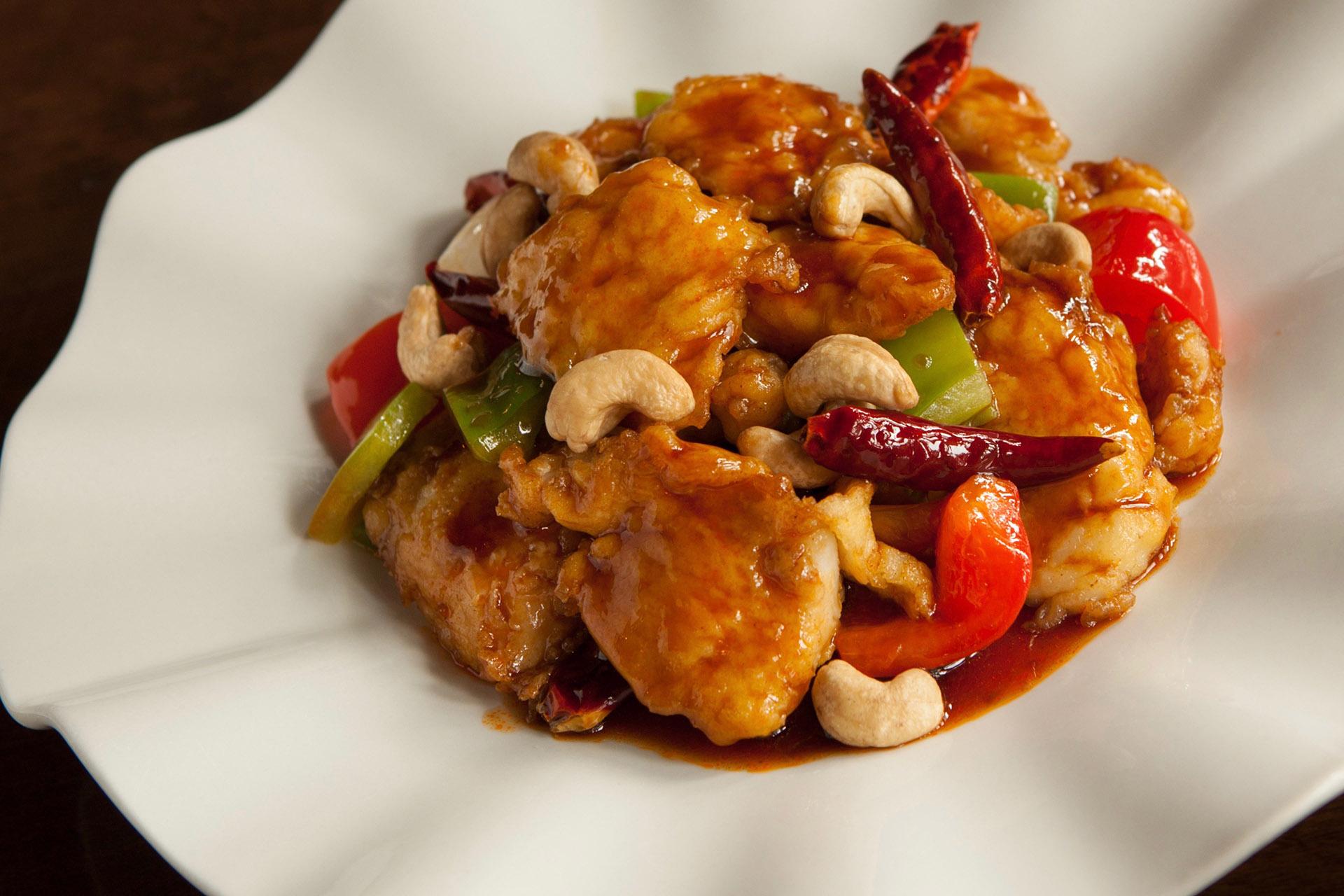Kung Pao Fish at Lee Chen Asian Bistro