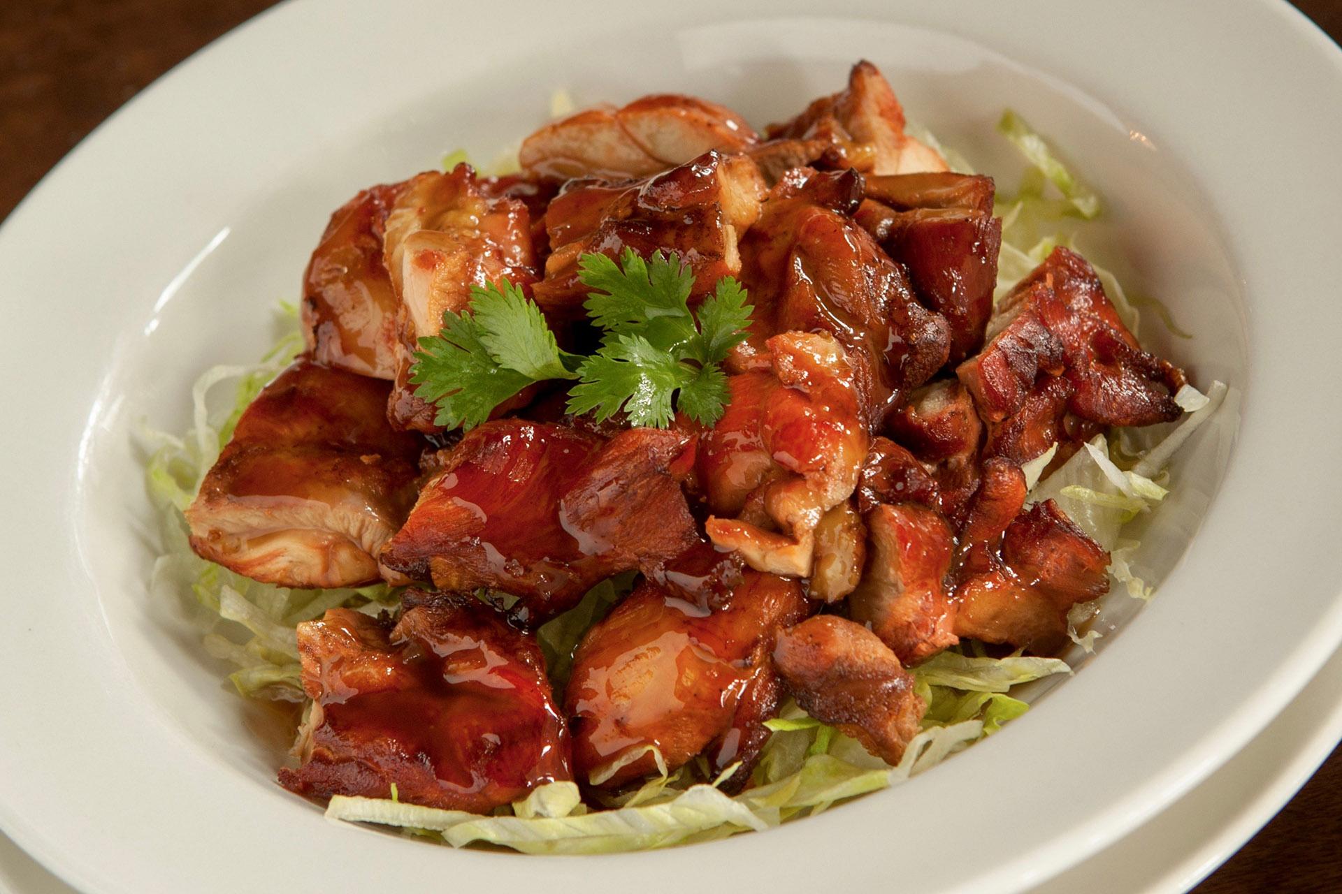 B.B.Q. Chicken at Lee Chen Asian Bistro
