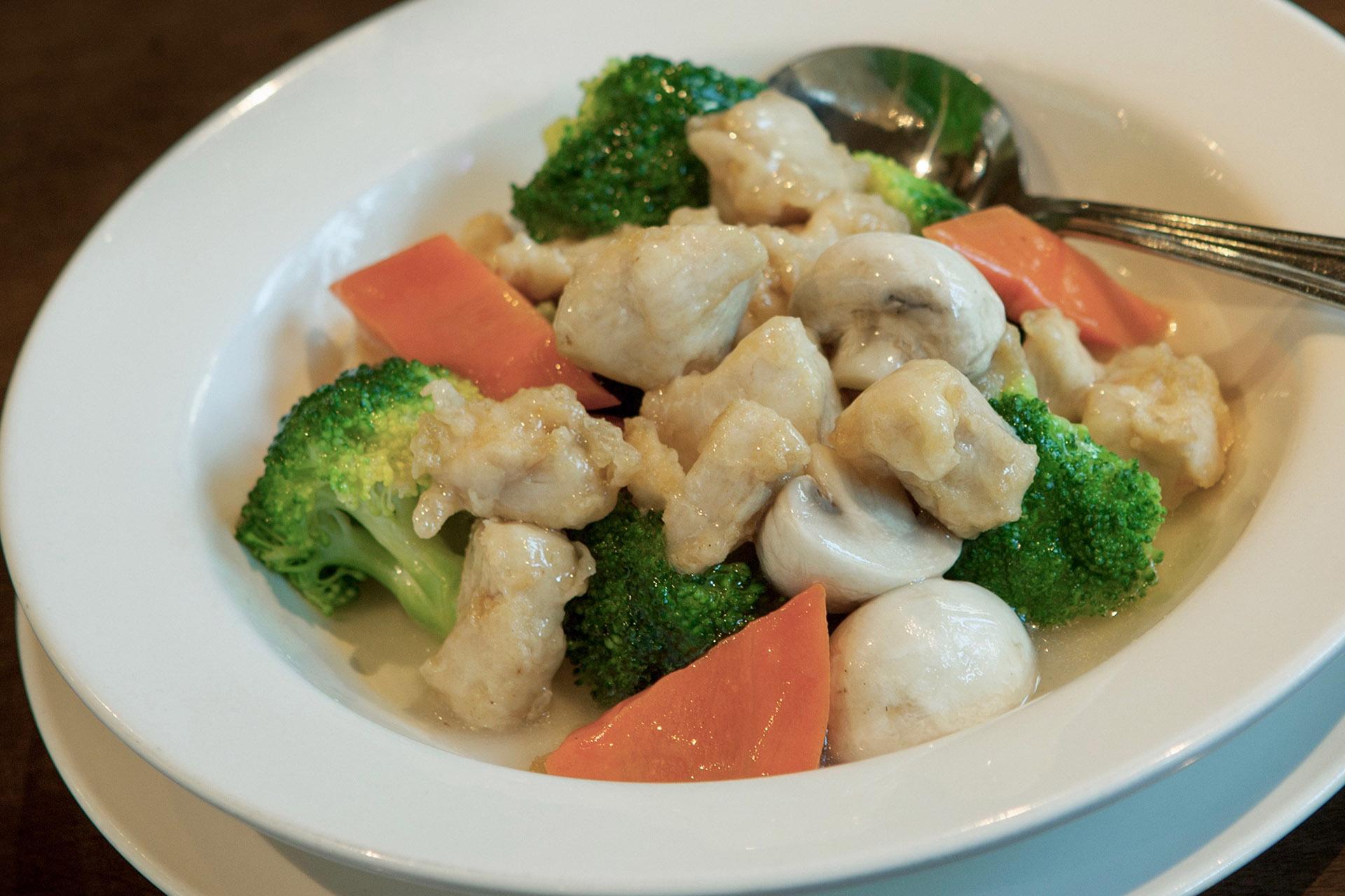 Chicken & Broccoli at Lee Chen Asian Bistro