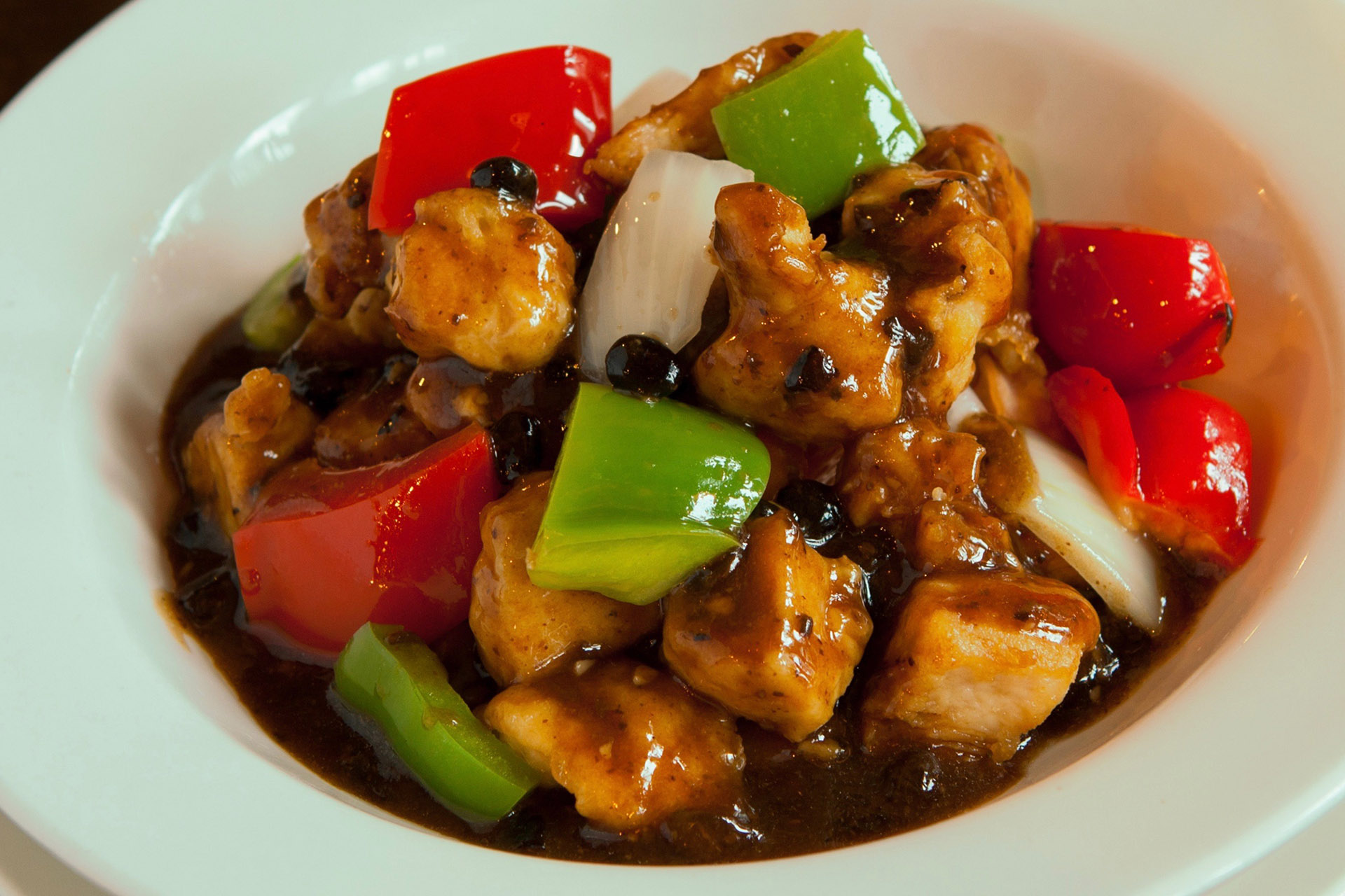 Black Bean Chicken at Lee Chen Asian Bistro