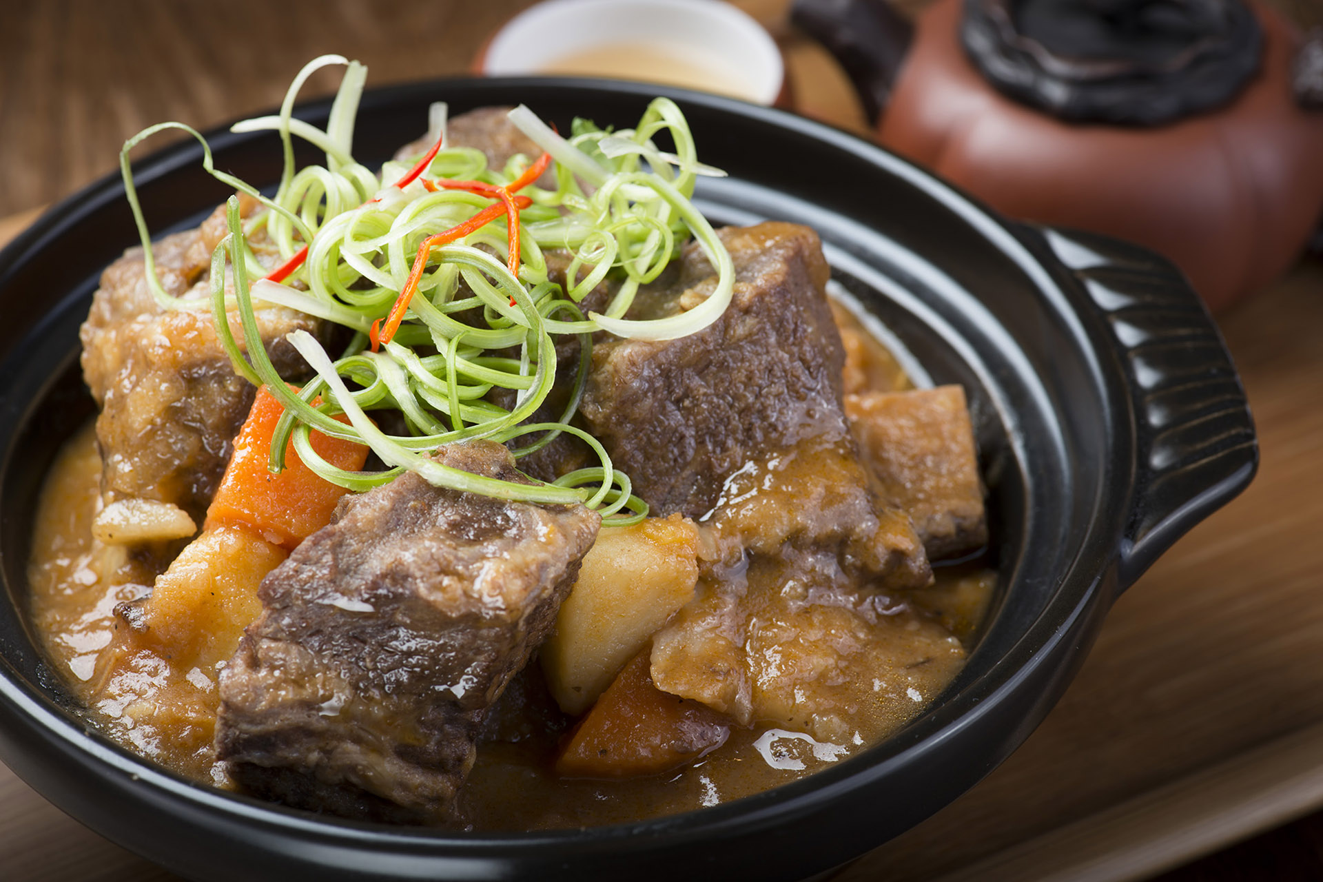 Braised Short Ribs at Lee Chen Asian Bistro