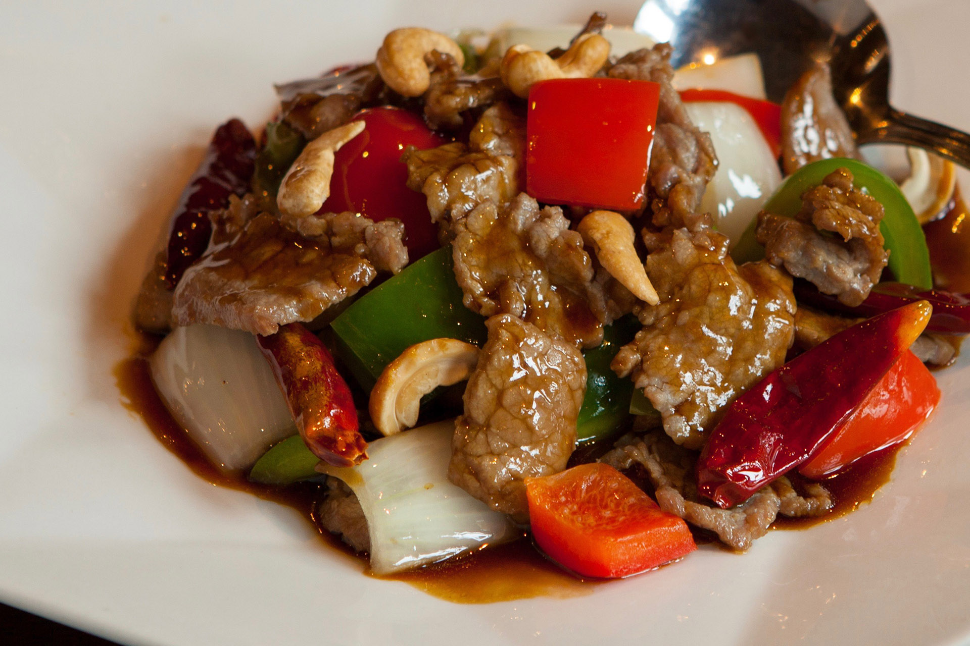 Kung Pao Beef at Lee Chen Asian Bistro