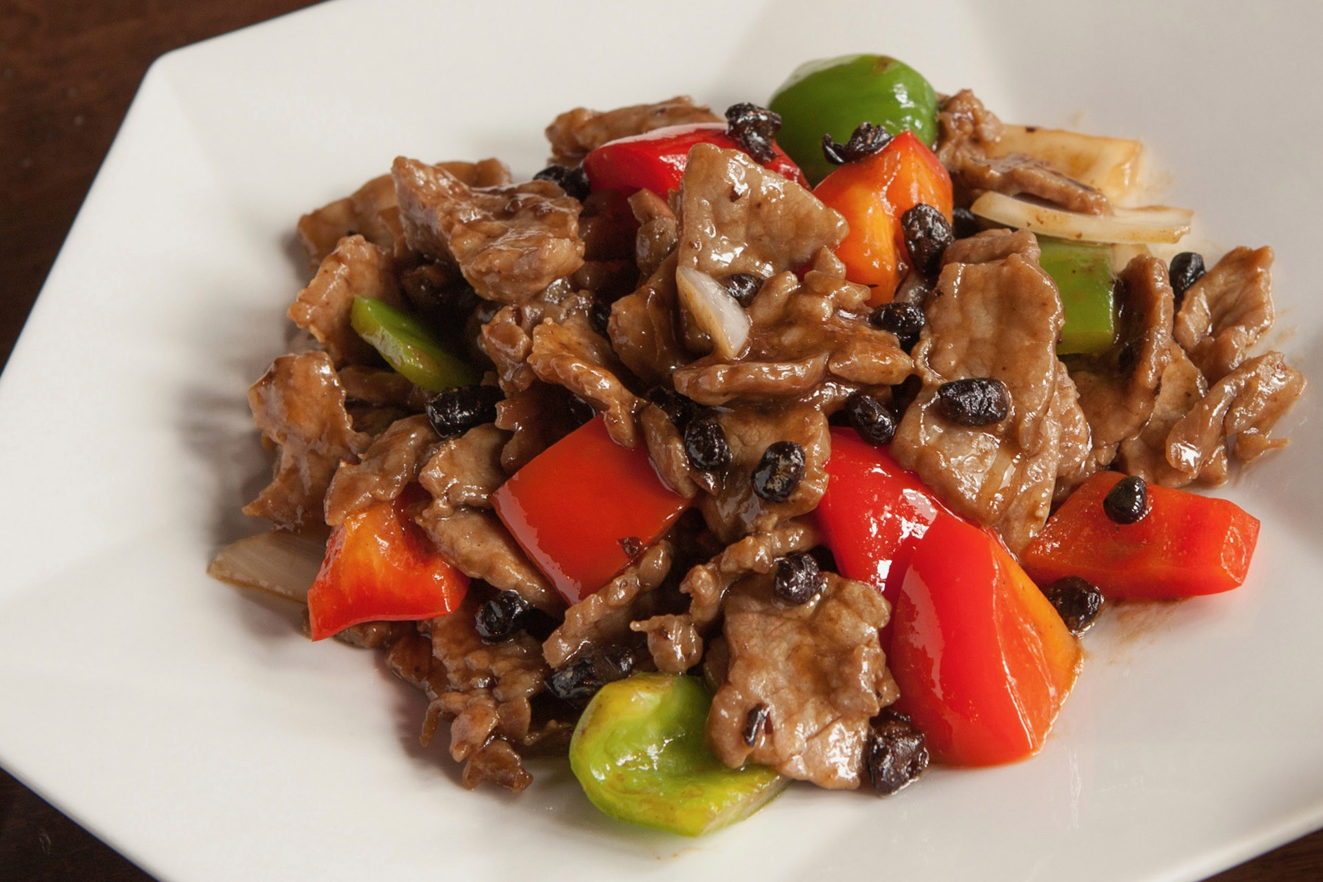 Black Bean Beef at Lee Chen Asian Bistro